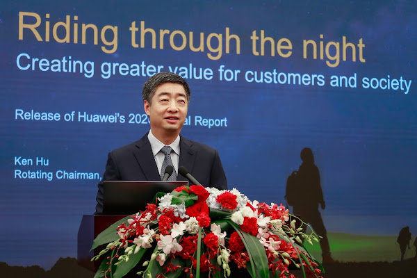 Receita de vendas globais da Huawei em 2020 atinge os 136,7 mil milhões de dólares
