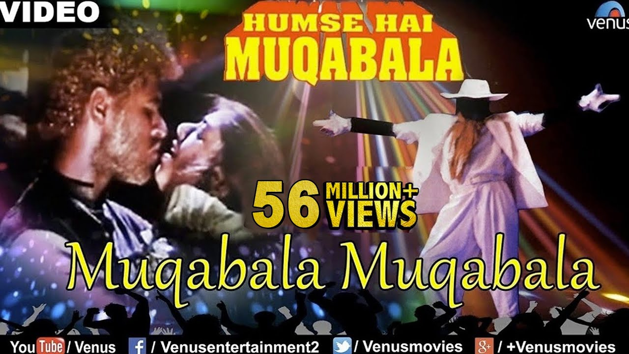 Muqabala Muqabala Lyrics Parbhu Deva | Hum Se Hai Muqabala