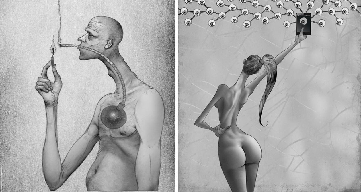45 Thought-Provoking Illustrations Reveal What Is Wrong With Modern Society