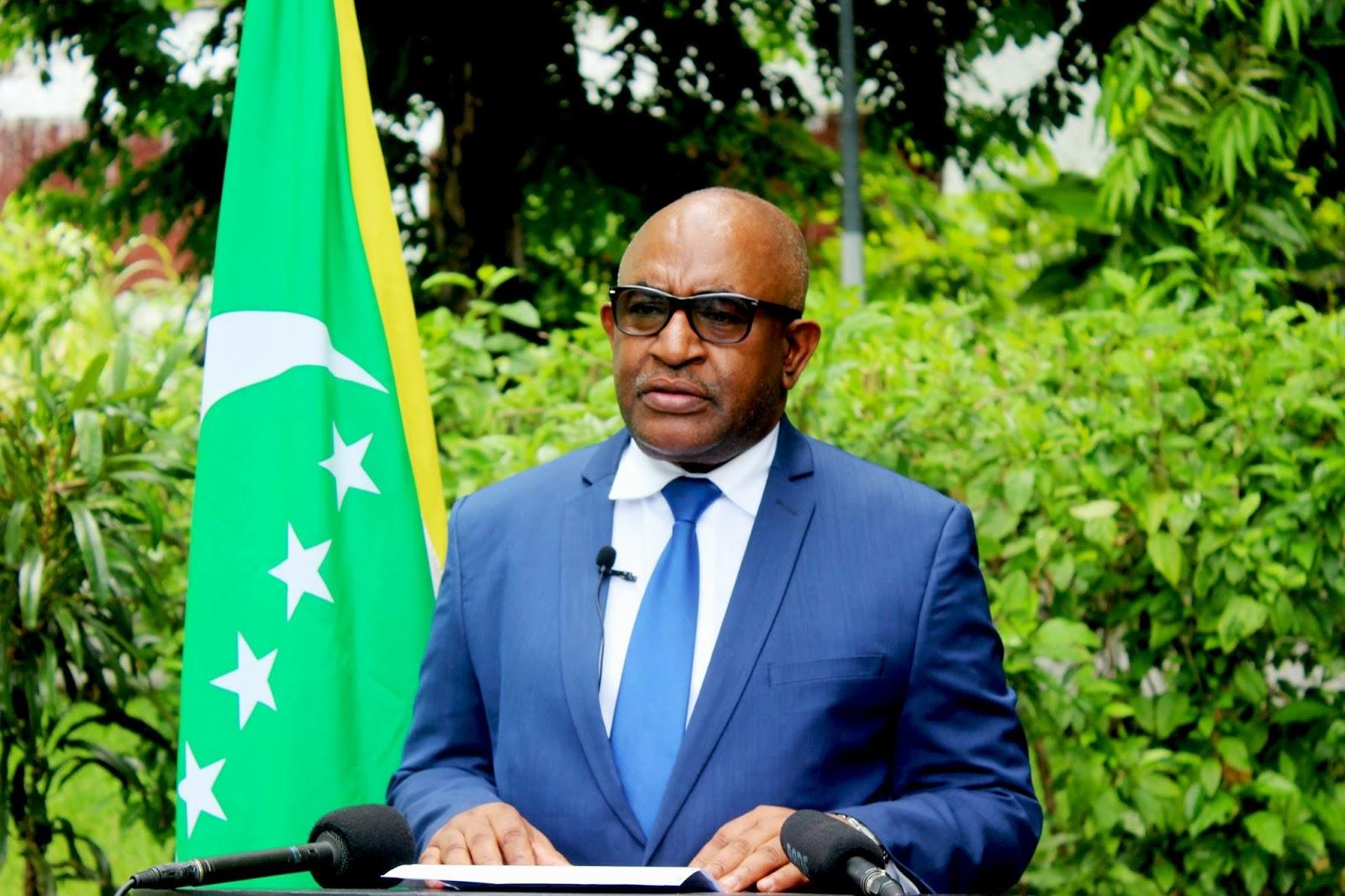 Image result for President Azali Assoumani