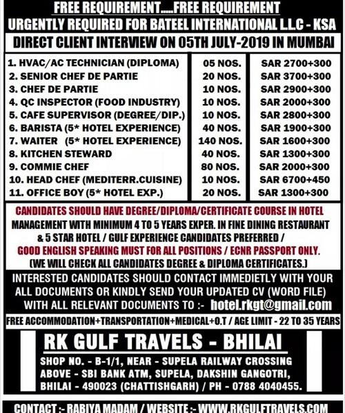 GULF JOBS NEWSPAPER ADVERTISEMENTS 27-6-2019 PART 2 – GCC
