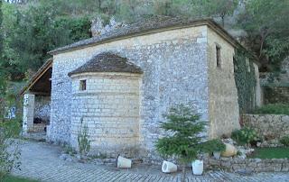 ο ναός του αγίου Παντελεήμονα στο Νησί των Ιωαννίνων