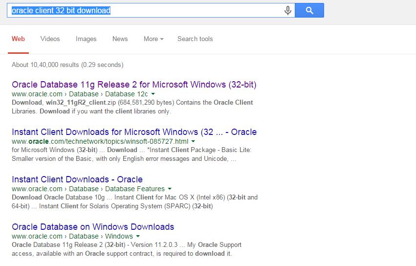 download oracle 10g client for windows server 2008 r2 64 bit