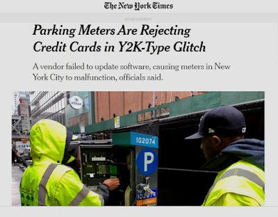 NYC Parking Meter Glitch 2020