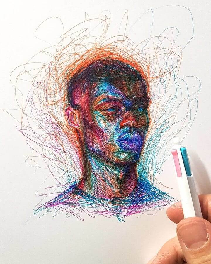 01-Alberto-Russo-Scribble-Drawings-www-designstack-co