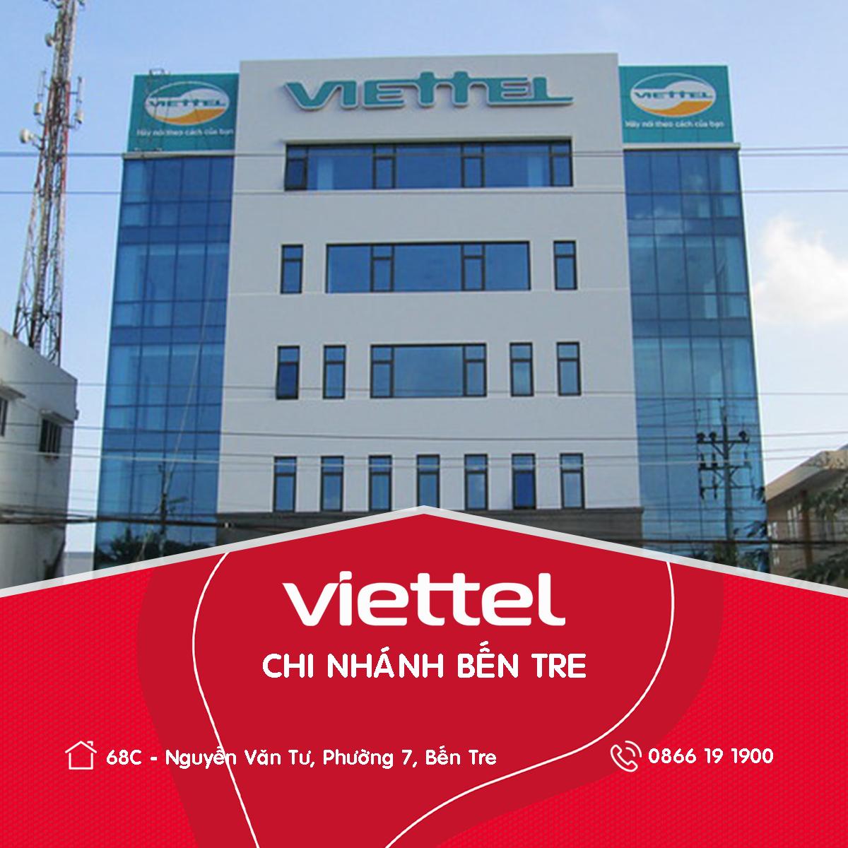 Viettel Telecom chi nhánh Bến Tre