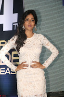 Chandini Chowdary in white Tight dress at Shamanthakamani pre release function ~  Exclusive 027.JPG