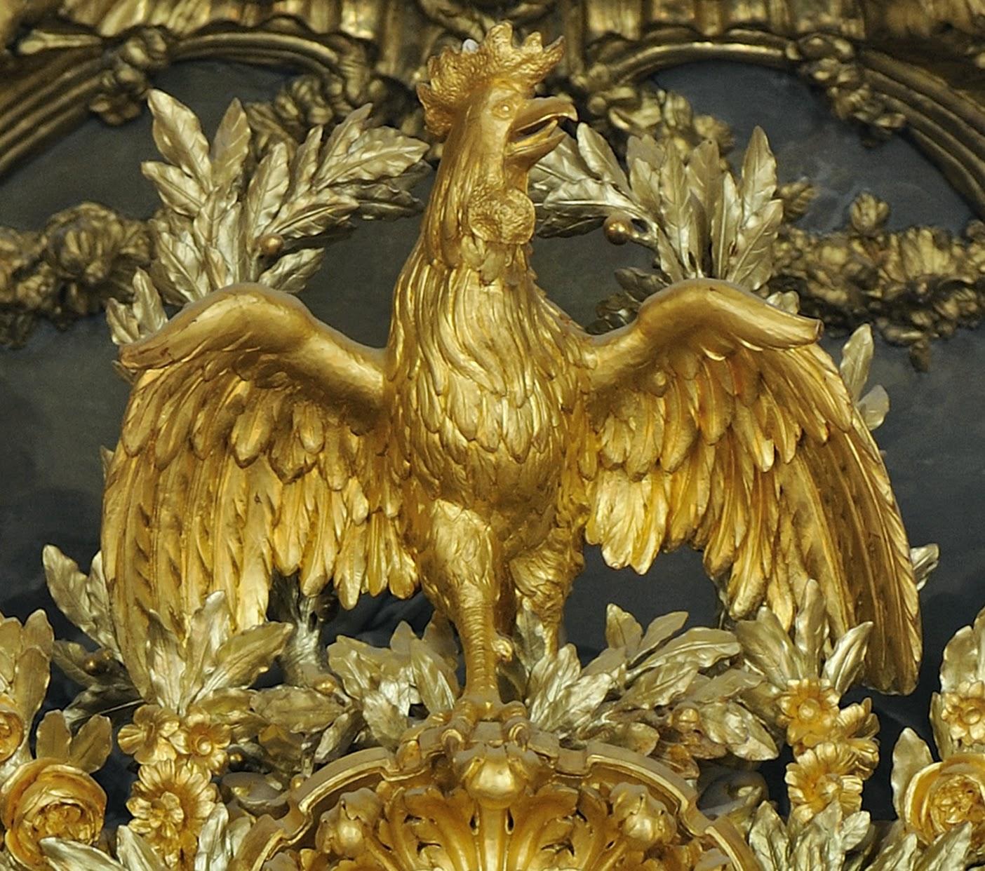 Atelier HISSIER, Art et techniques de la dorure à Versailles: Le baldaquin  du lit de la Reine