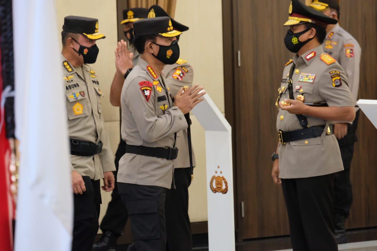 Irjen Rudy Heriyanto Resmi Jabat Kapolda Banten