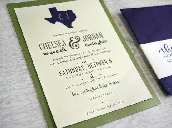 Lake Themed Wedding Invitations: Charm & Confetti: Custom Texas Lake House Wedding