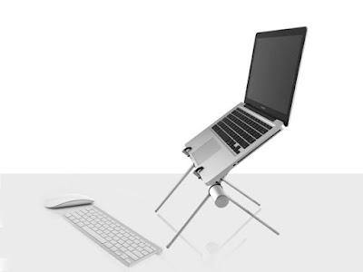 Best Laptop Stands for You - 3 in 1 Stand Up Stand in a Tube
