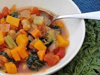 Kale, Squash, Bean Soup Recipe