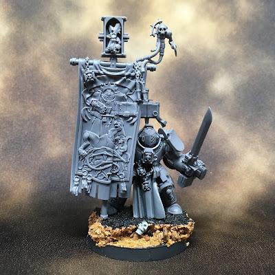 Grey Knights Brotherhood Ancient WIP- Front