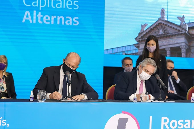 Uno por uno: los acuerdos por $76 mil millones firmados entre Nación y Provincia