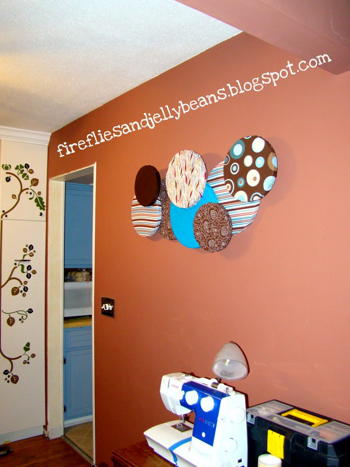 Fireflies and Jellybeans: Circle Wall Art