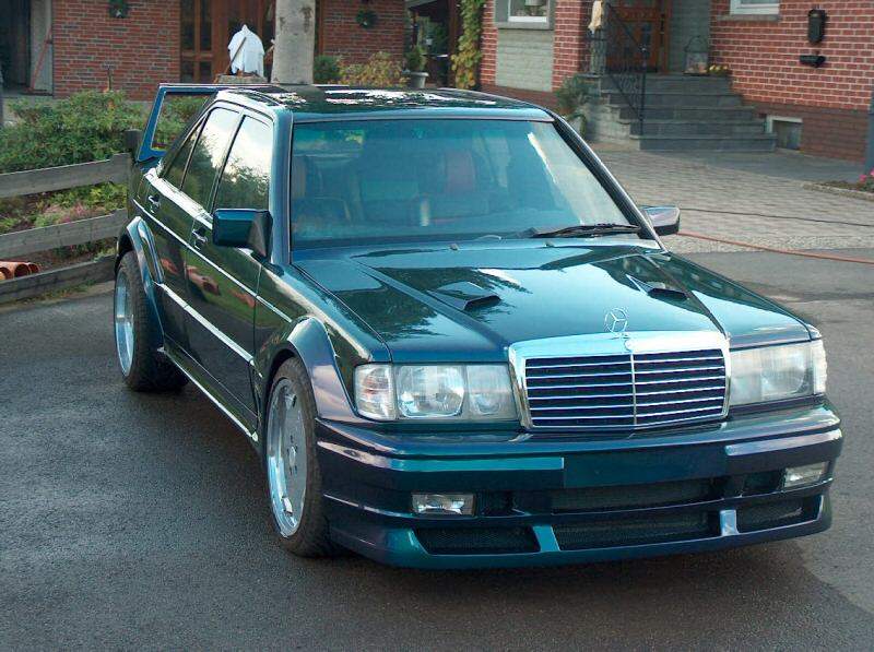 Mercedes Benz 190e Wide Body Tuning Benztuning