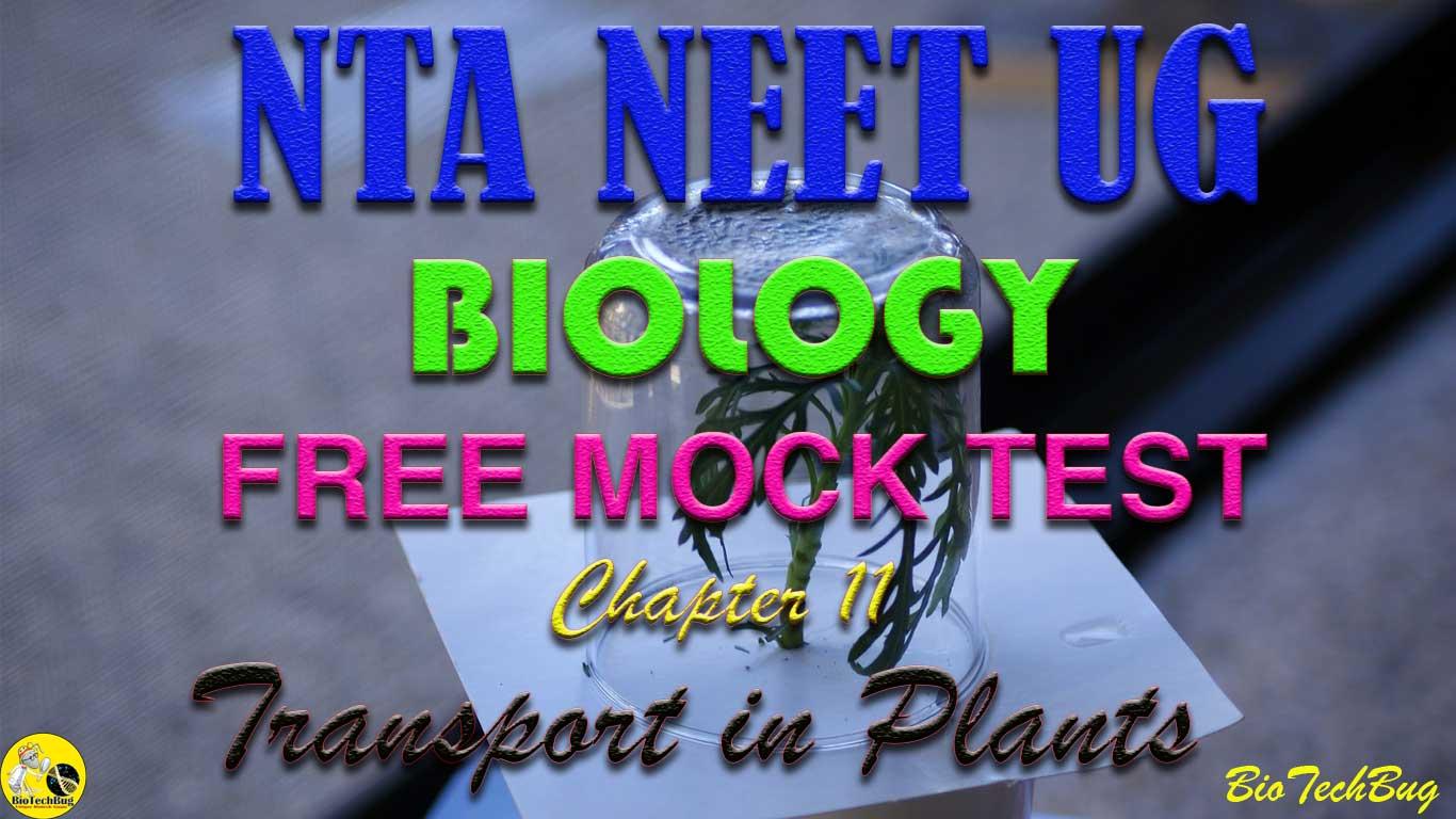 Free Online NEET Full Biology Mock Test