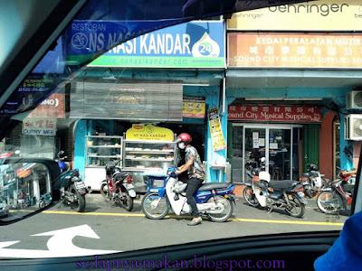 restoran NS Nasi Kandar, Jalan Burma, George Town