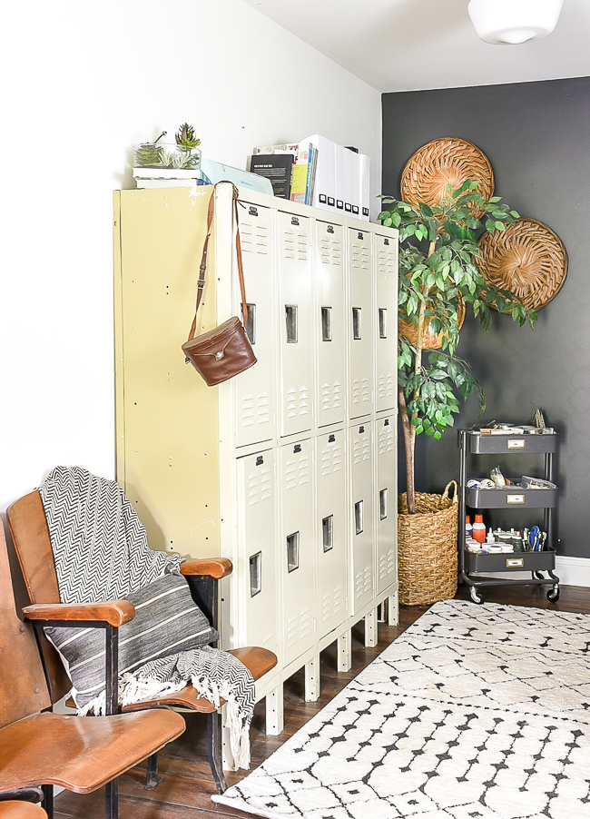 Office locker storage