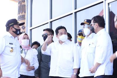 3 Menteri Dukung Gubernur Lampung Arinal Djunaidi Bangun Kawasan Wisata Bakauheni Harbour City