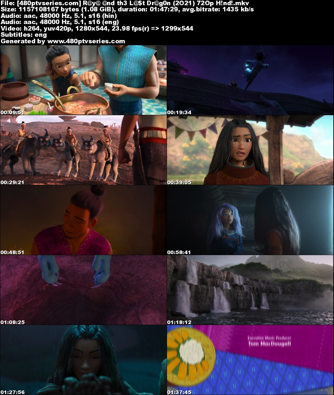 Download Raya and the Last Dragon (2021) Hindi Dual Audio 1GB Bluray 720p Free Watch Online Full Movie Download Worldfree4u 9xmovies