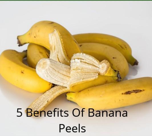 5 Health Benefits Of Banana Peels