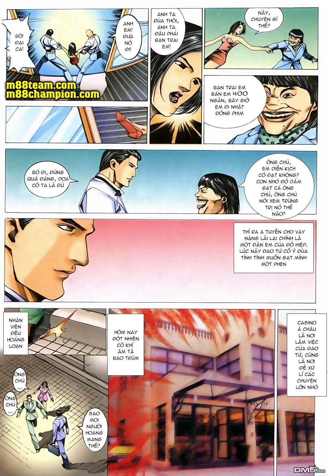 Đổ Hiệp Truyền Kỳ chap 1 - Trang 20