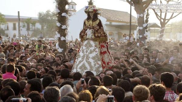 Traslado de la Virgen del Rocío a Almonte el próximo 19 de Agosto