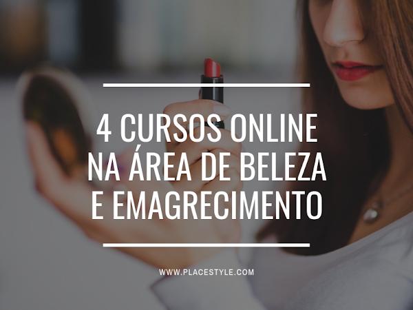 4 Cursos online na área de Beleza e Emagrecimento
