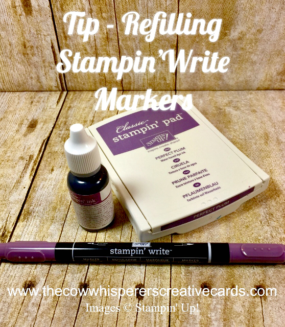 Tip, Refill, Stampin Write Markers, Ink Refills