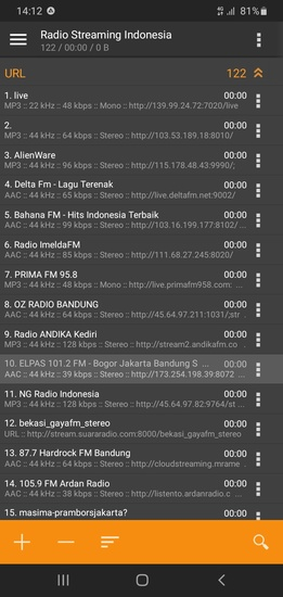 Daftar Radio Streaming Indonesia