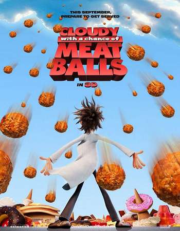 Cloudy with a Chance of Meatballs 2009 Hindi Dual Audio BRRip Full Movie Download