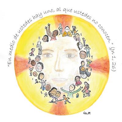 Evangelio según san Juan (1, 6-8. 19-28): Yo soy la voz que grita en el desierto: 'Enderecen el camino del Señor'