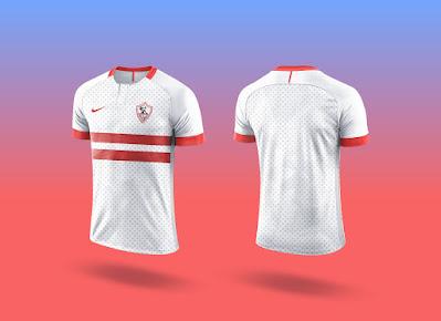 Free Sports Team Soccer Jersey T-Shirt Mockup PSD