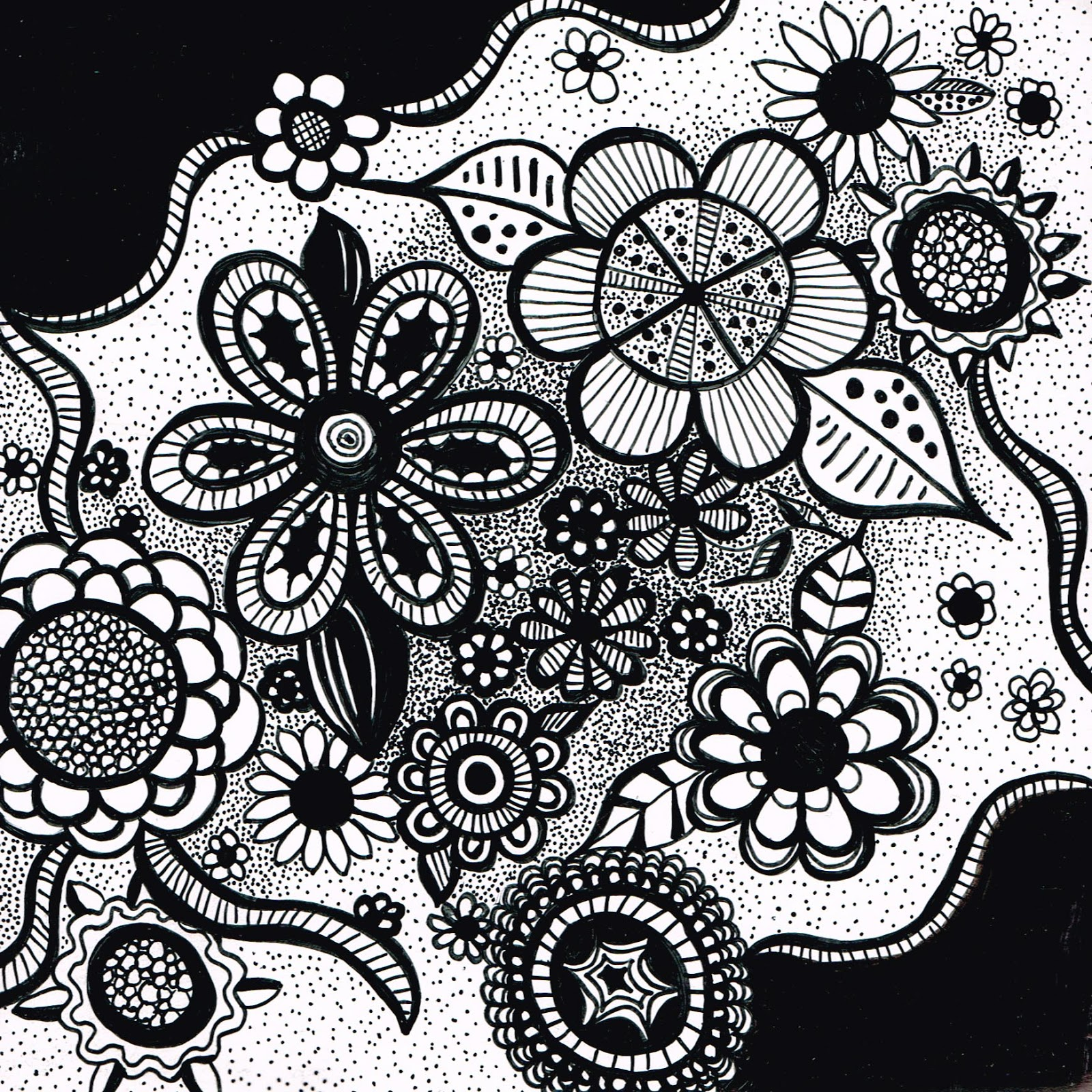 Cool Easy Patterns To Draw