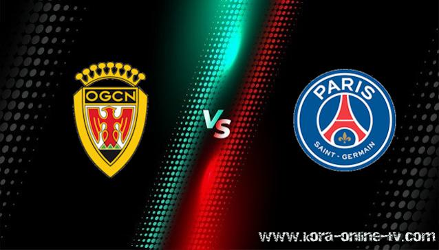 مشاهدة مباراة باريس سان جيرمان ونيس بث مباشر الدوري الفرنسي