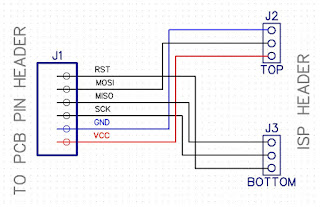 ISP programming rig schematic
