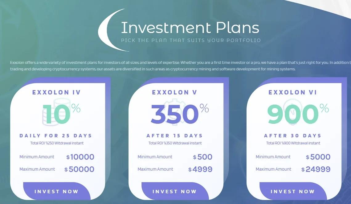 Инвестиционные планы Exxolon 2