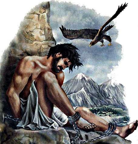 Древнегреческие боги прометей