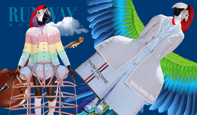 Thom Browne Spring-Summer 2020 by RUNWAY MAGAZINE