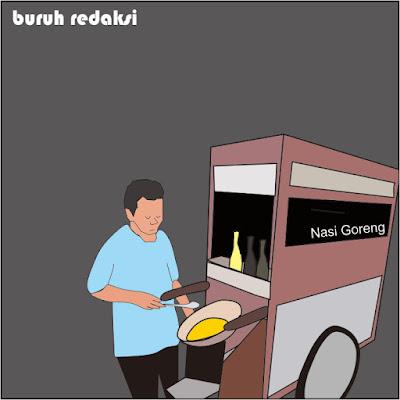 5 bahaya nasi goreng bagi kesehatan.