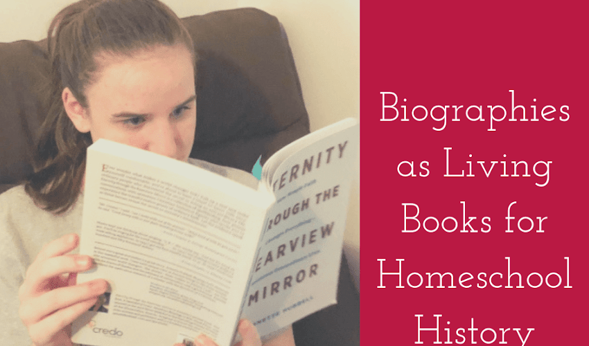 Biographies as Living Books for Homeschool History...And a Review of an Amazing Biography  Collection