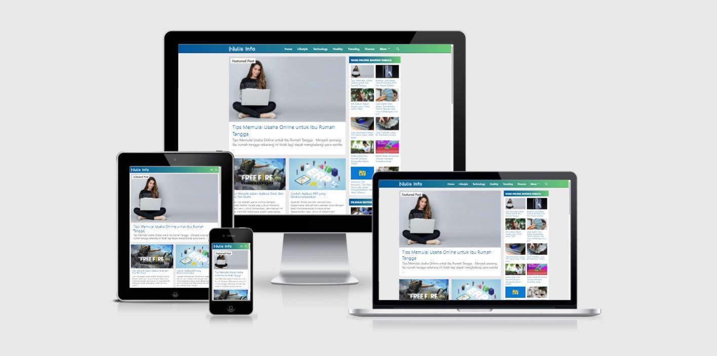 Template Blogger Kompi Flexible