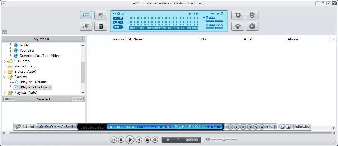 تحميل برنامج jetAudio Plus 8.1.8.20800 لتشغيل ملفات الموسيقى والفيديو المختلفة