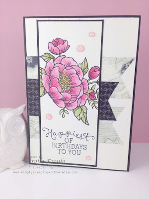 Narelle Fasulo - Independent Stampin' Up! Demonstrator - Simply Stamping with Narelle - Birthday Blooms available in the 2016 Occasions Catalogue - http://www3.stampinup.com/ECWeb/default.aspx?dbwsdemoid=4008228