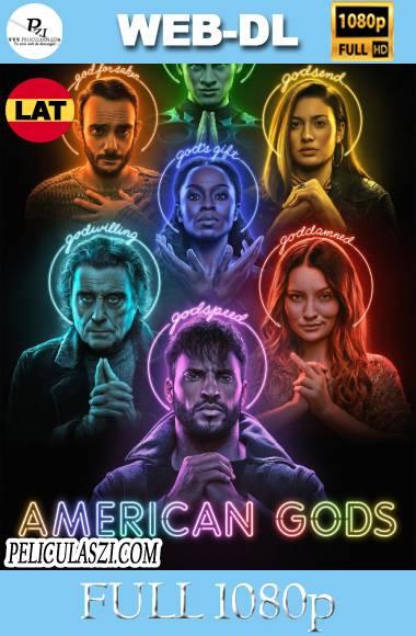 American Gods (2017-2021) Full HD Temporada 1-3 WEB-DL 1080p Dual-Latino