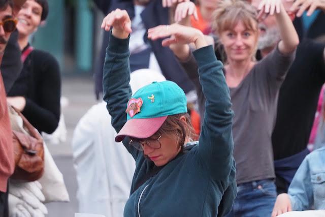 Danse pour Steve !  Nantes,  Emeric Cloche