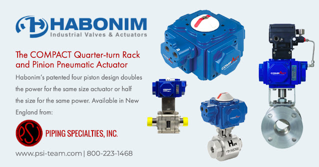 The COMPACT Quarter-turn Rack and Pinion Pneumatic Actuator