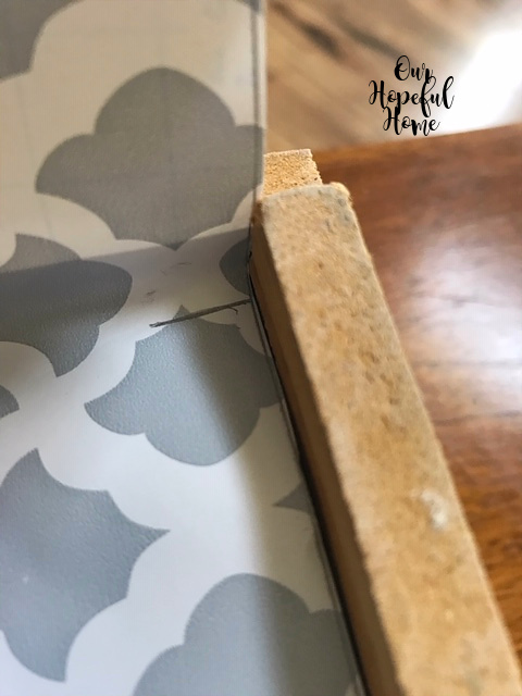 gray contact paper drawer liner