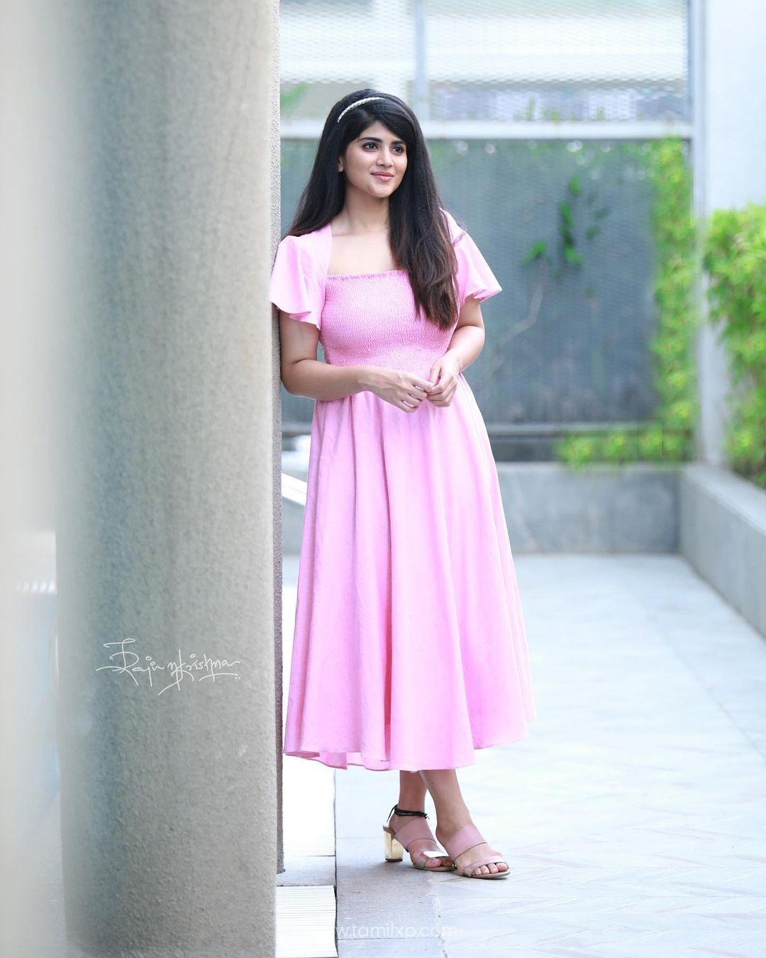 Actress Megha Akash stills